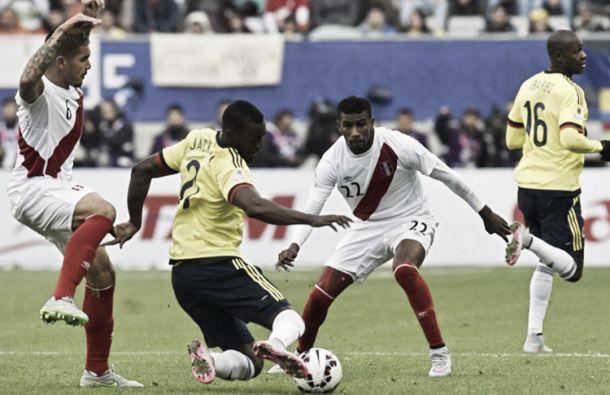 Copa América: Perú empata Colômbia e garante apuramento