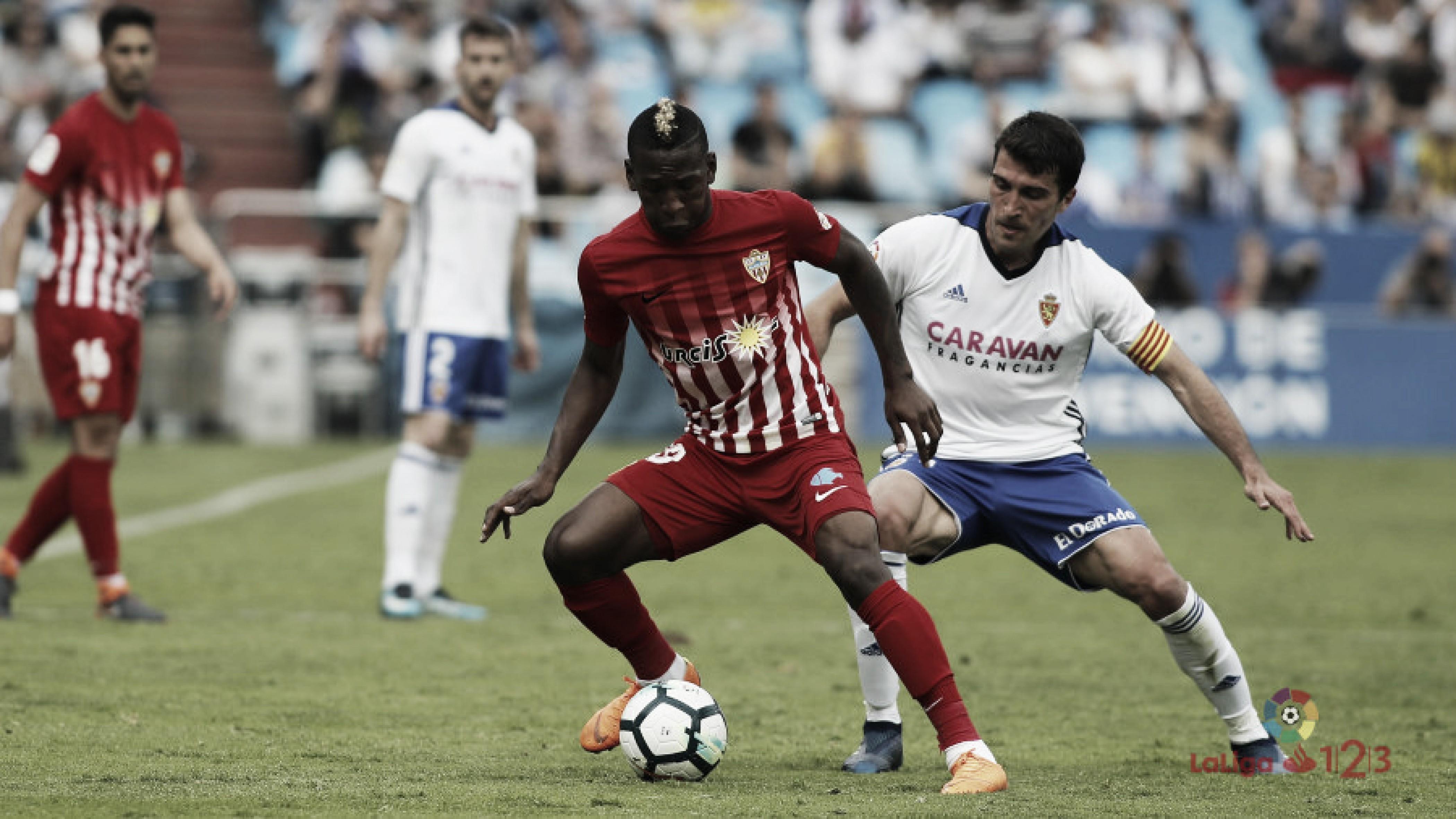 Previa UD Almería - Real Zaragoza: en busca de la primera victoria liguera