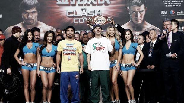 Combate Manny Pacquiao vs Brandon Rios en vivo y directo online