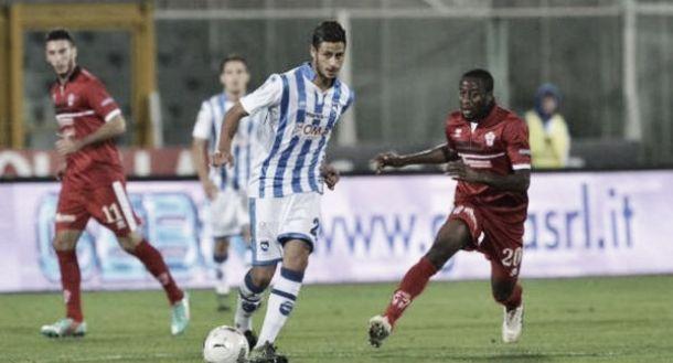 Serie B: il Pescara vola, 1-0 alla Pro Vercelli