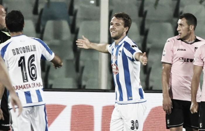 Pescara-Palermo 2-0, le voci del dopo-gara