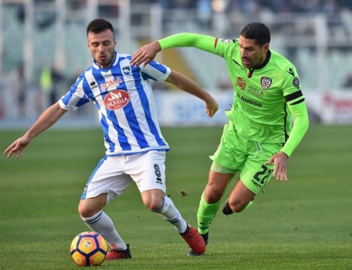 Cagliari-Pescara, tre punti d'orgoglio