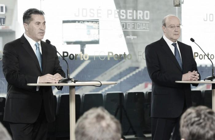 Porto: José Peseiro foi apresentado como o novo treinador dos dragões