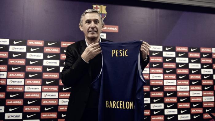 Pesic, nuevo entrenador del FC Barcelona Lassa