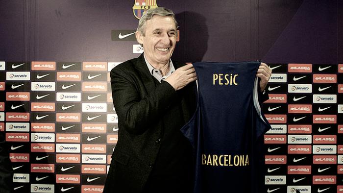 "Svetislav Pesic: ""Estoy aquí para ayudar a mi club"""