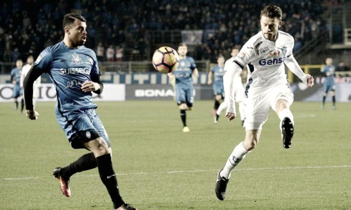Serie A: brivido Atalanta, D'Alessandro la ribalta al 94'! Empoli battuto 2-1