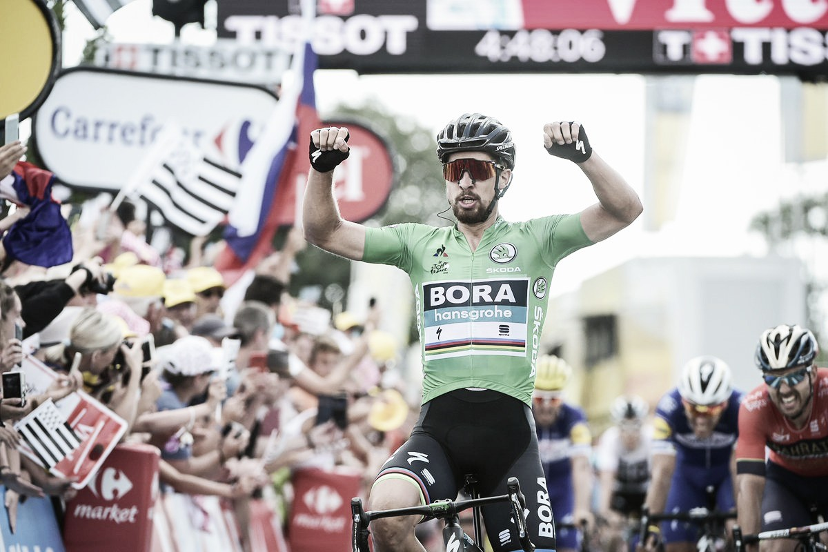 Peter Sagan brilla en su terreno