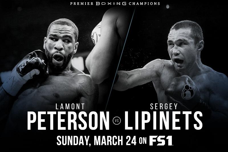 Combates preliminares confirmados para Peterson - Lipinets