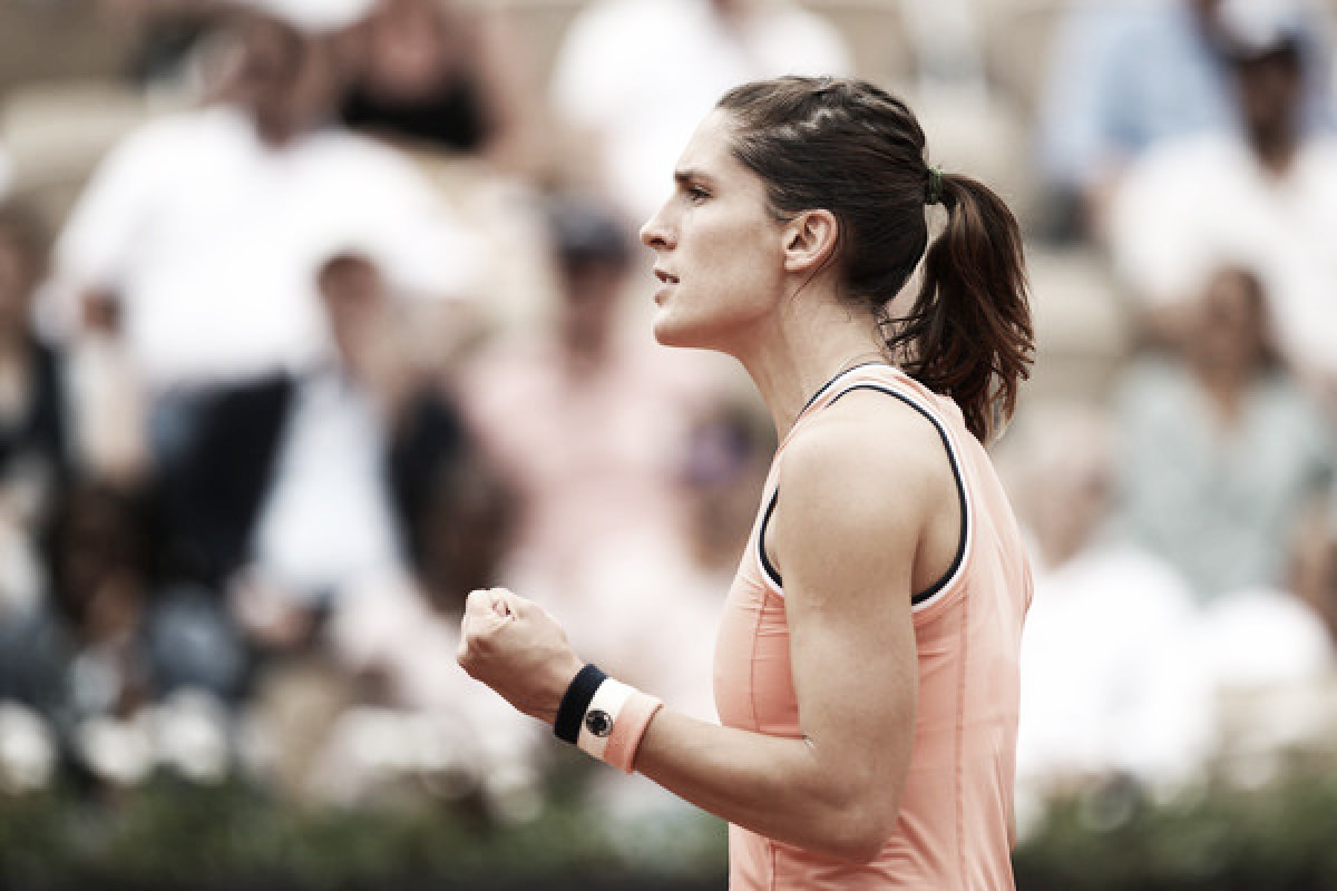 French Open: Andrea Petkovic stuns Kristina Mladenovic in straight sets