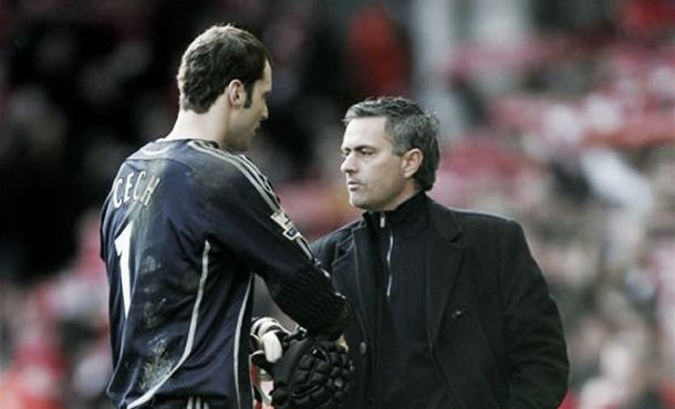 Mourinho thanks Cech for Chelsea service