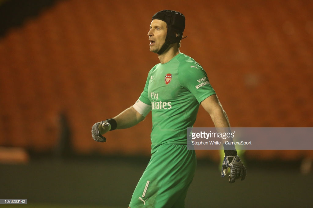 Petr Cech announces his retirement from football