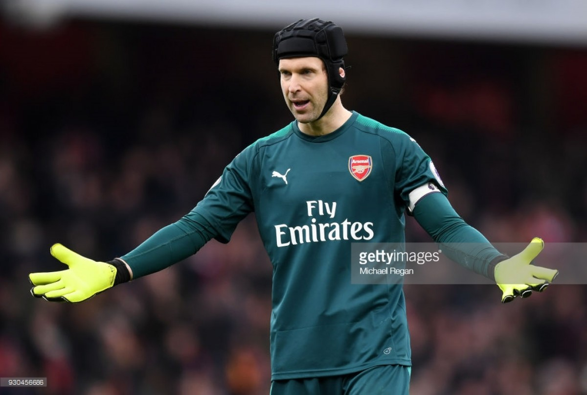 Petr Cech happy to receive number one shirt as Arsenal reveal four new squad numbers