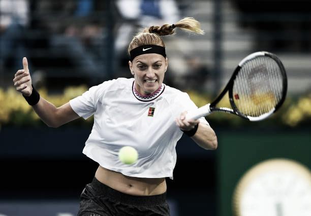 Kvitova reacciona a tiempo y alcanza una nueva final en Dubai
