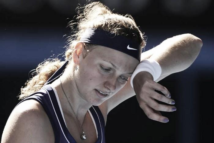 Ostapenko incide en la crisis de Kvitova