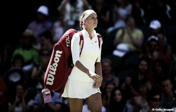 Tenista tcheca Petra Kvitova é diagnosticada com mononucleose