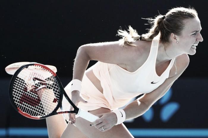 Kvitova supera el test de Radwanska