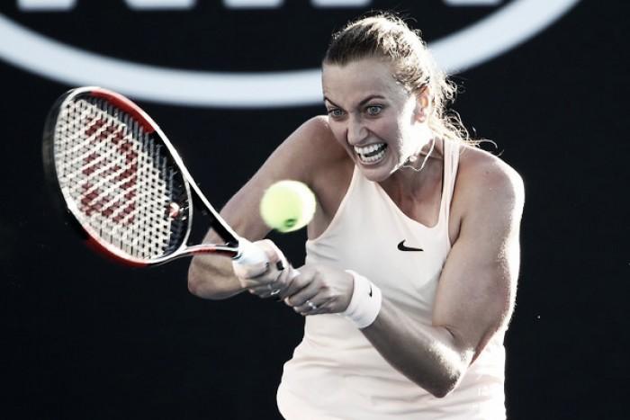 Goerges abandona y da vía libre a Kvitova