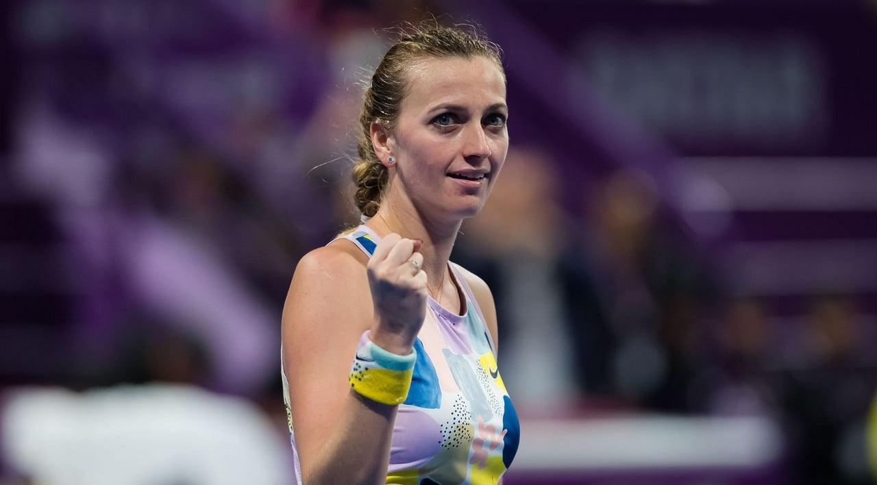 WTA Doha Day 6 wrapup: Kvitova, Sabalenka advance to singles final; Hsieh/Strycova win doubles title