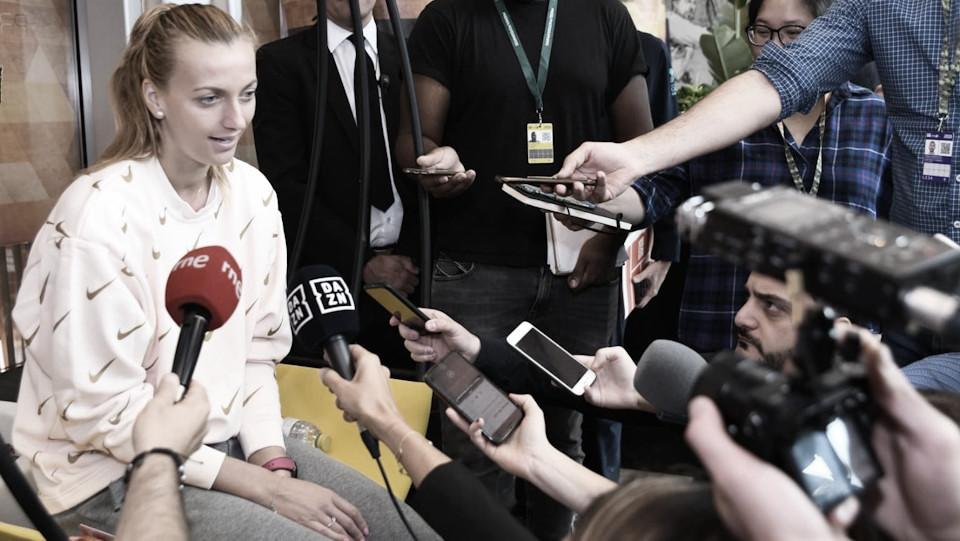 """Kvitova: """"Madrid es prácticamente como un Grand Slam"""""""