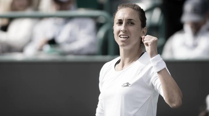 Dos breaks dan la victoria a Petra Matric sobre Belinda Bencic