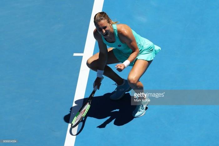 Australian Open 2018: Petra Martic edges Luksika Kumkhum in three-set thriller