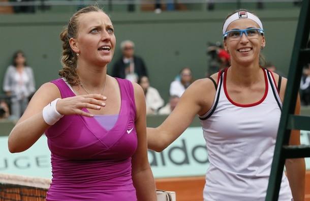 Kvitova rejoint Sharapova en demi-finale