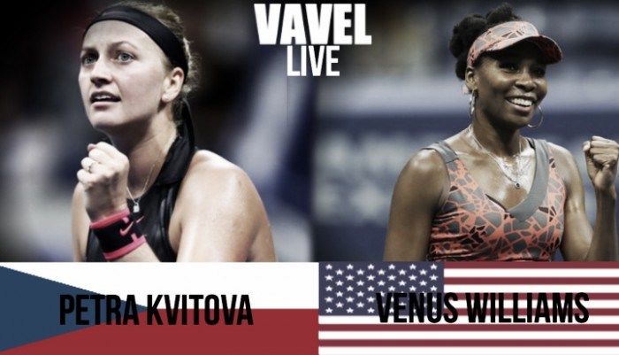 Petra Kvitova vs Venus Williams Live Stream Commentary and Updates of the 2017 US Open Quarterfinal