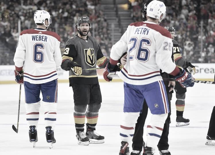 Montreal asalta el fortín de los Golden Knights