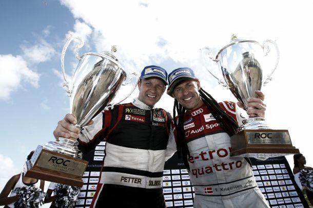 El equipo nórdico gana el Race of Champions