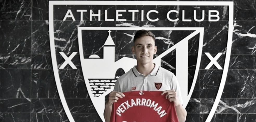 Oficial: Álex Petxarroman es nuevo jugador del Athletic