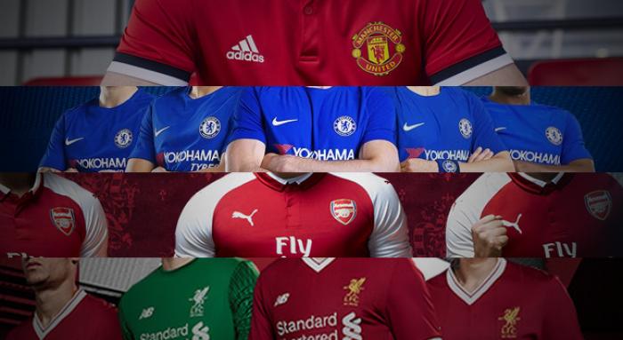 Com homenagens e poucas mudanças, times da Premier League lançam uniformes