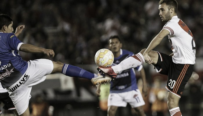 River, implacable como local ante equipos bolivianos