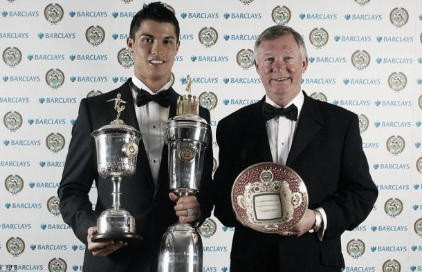 Winners of the PFA Player of the Year from Manchester United