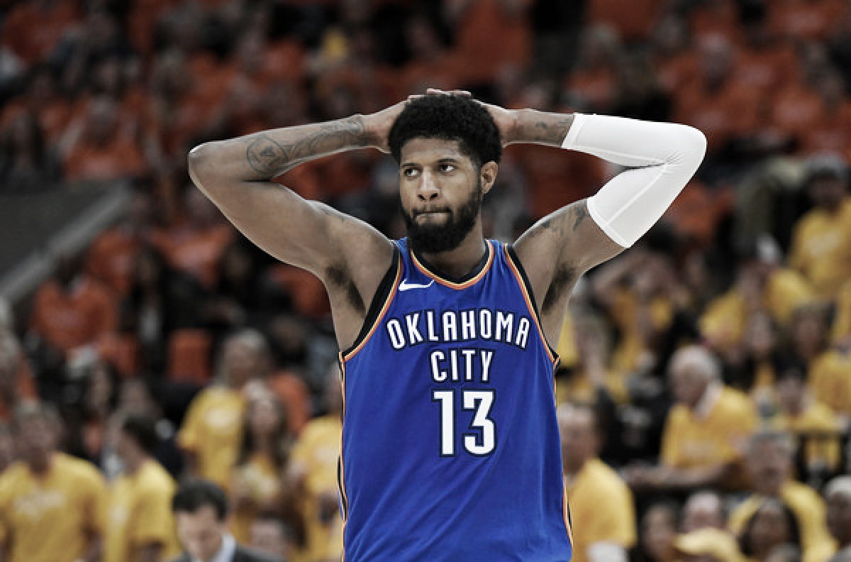Paul George signs max deal with the Oklahoma City Thunder