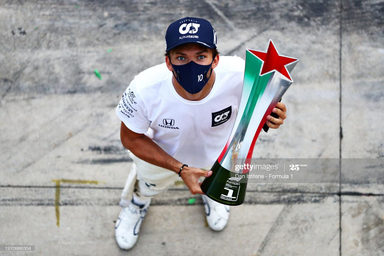 Italian GP Report - Pierre Gasly takes maiden F1 win
