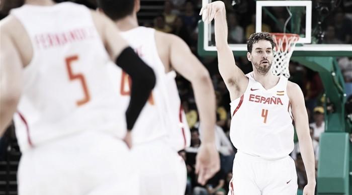Rio 2016, basket maschile: la Spagna di Gasol strapazza la Lituania (109-59)