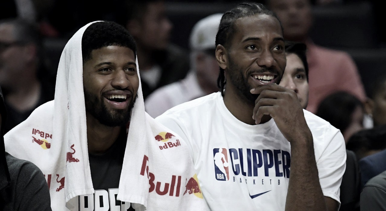 Georgeand Kawhi used Drake's homeas their HQ whenplanning the move to LA
