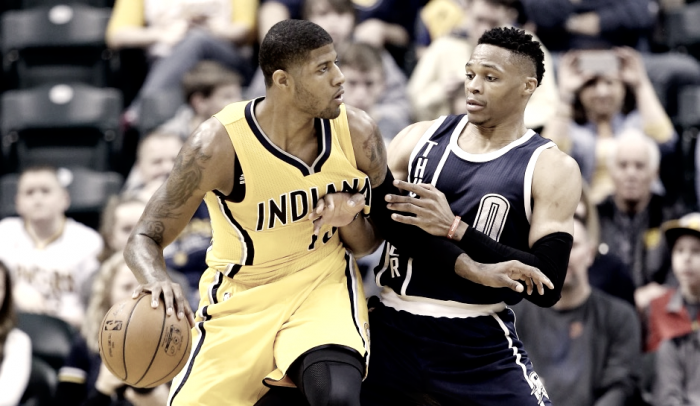 Indiana Pacers agree to trade Paul George to Oklahoma City Thunder