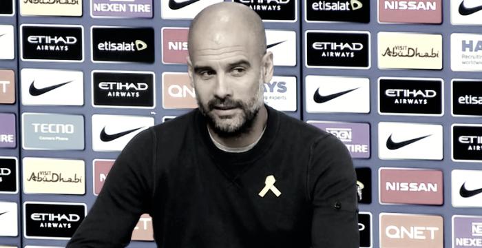 """Guardiola: """"Seguir consiguiendo victorias nos ayuda"""""""