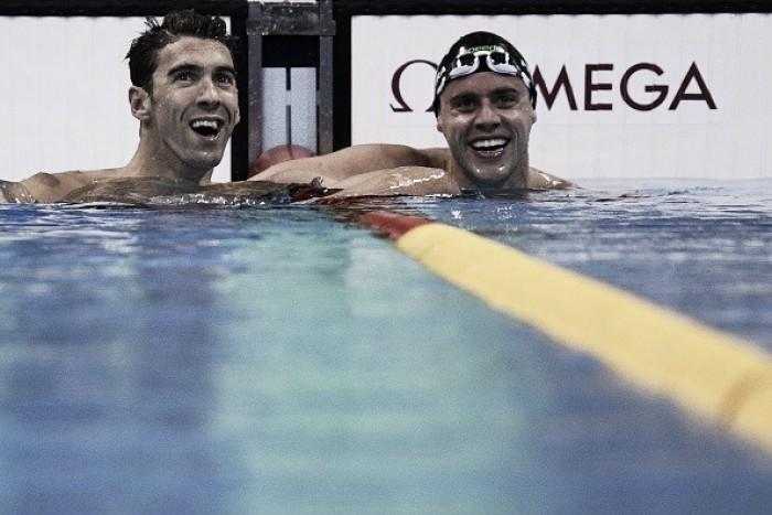 Quatro brasileiros conseguem vaga nas semifinais da natação