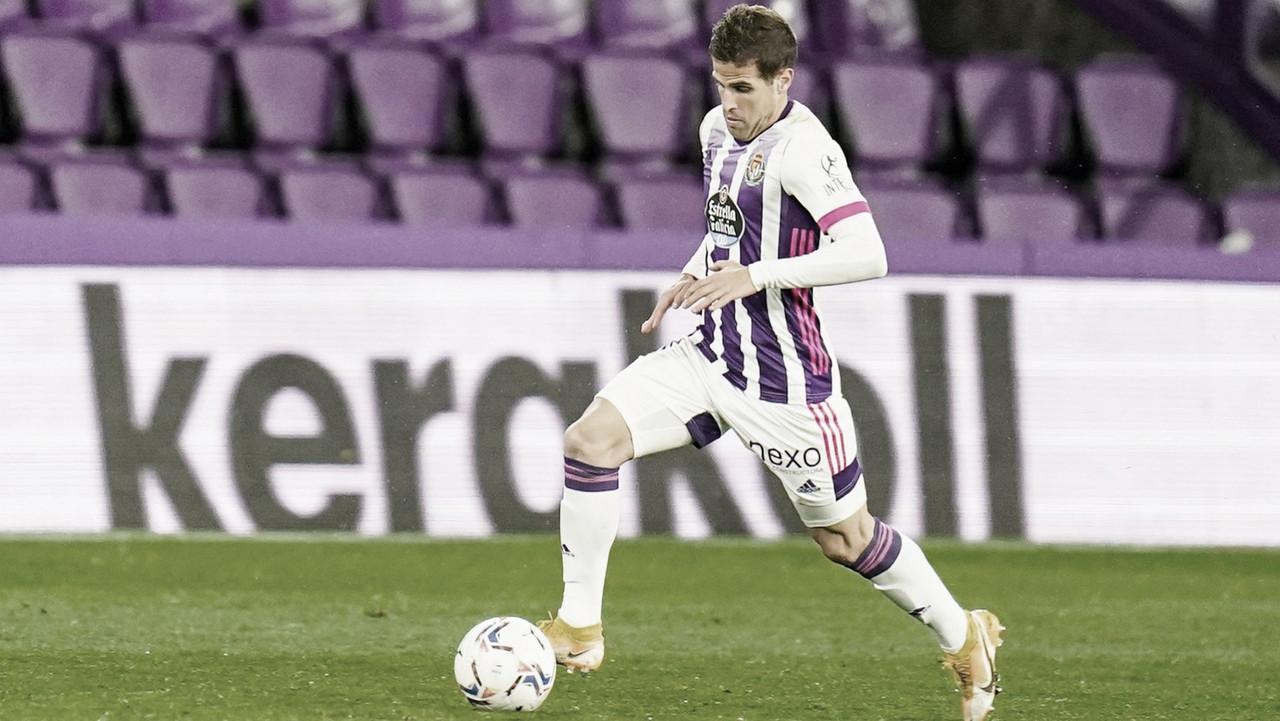 Hervías, la enésima baja del Real Valladolid