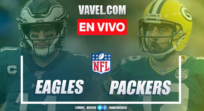 Resumen y anotaciones del Philadelphia Eagles 16-30 Green Bay Packers en NFL 2020