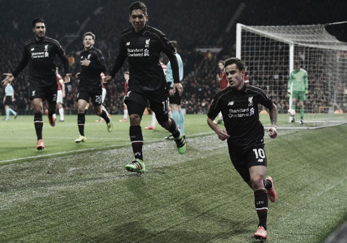 """It was brilliant what he did"" says Klopp on the moment of Coutinho ""genius"" that beat United"