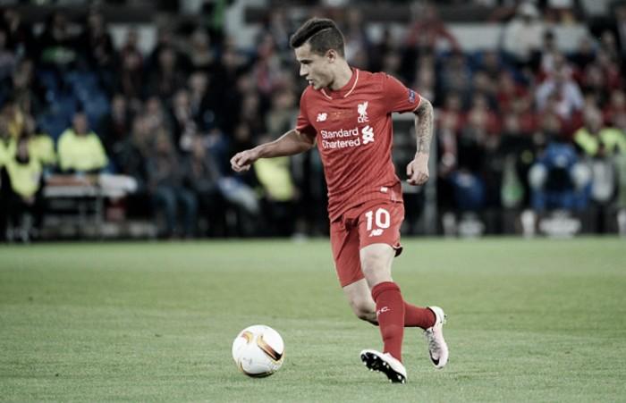 Philippe Coutinho returns to Liverpool training