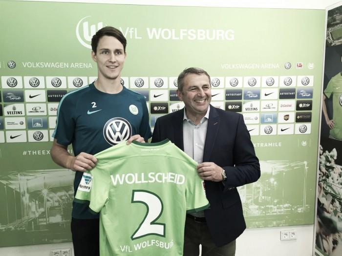 Wolfsburg anuncia chegada por empréstimo do zagueiro Wollscheid, junto ao Stoke City