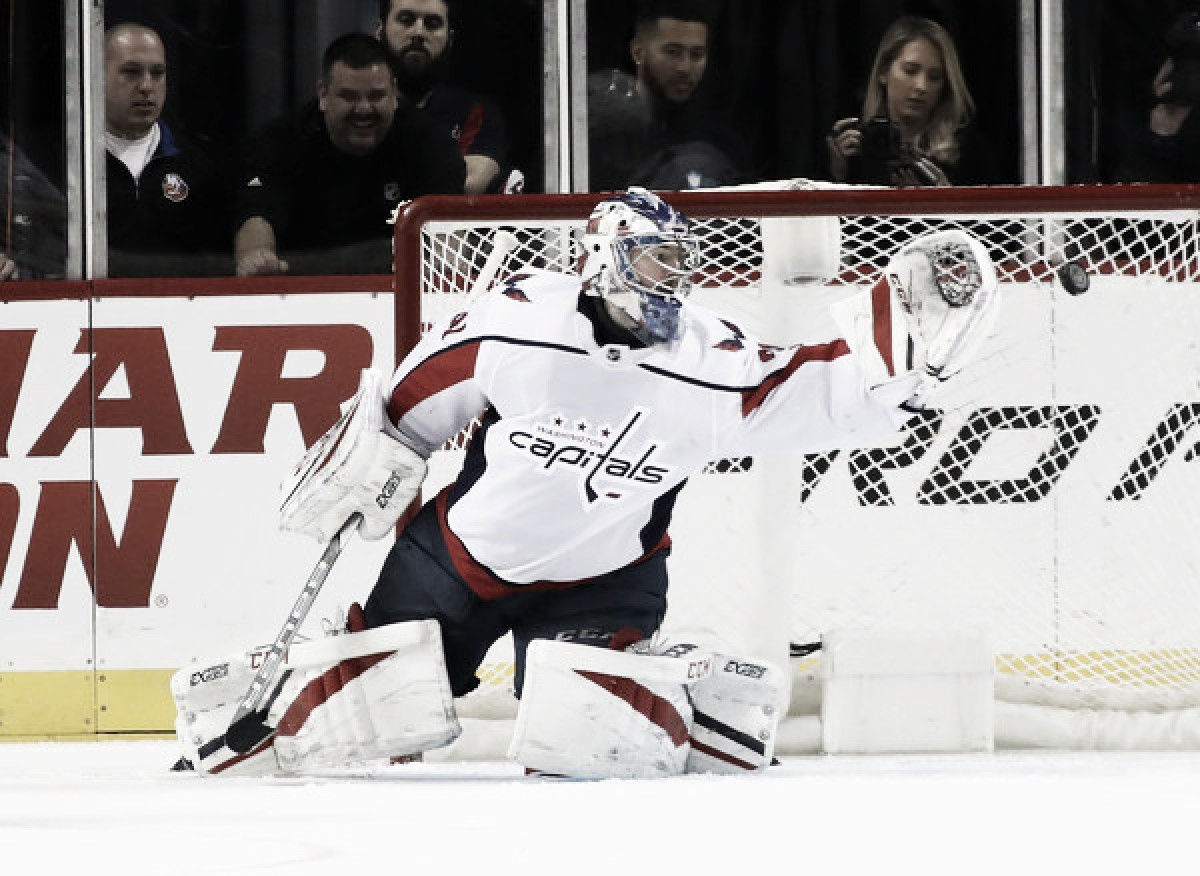 Philipp Grubauer gets signature win, makes further case to be starter