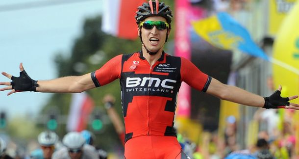 Taylor Phinney takes the first steps upon the road to recovery