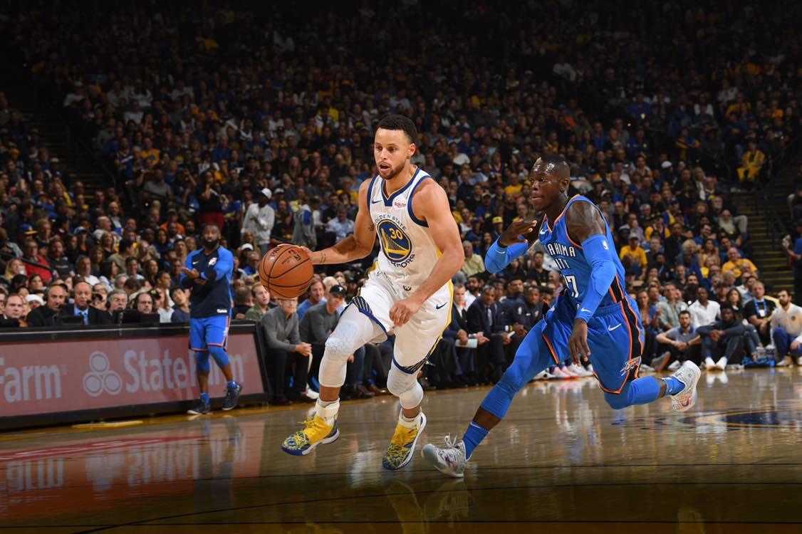 NBA - Buona la prima per Golden State, OKC sconfitta senza Westbrook (108-100)