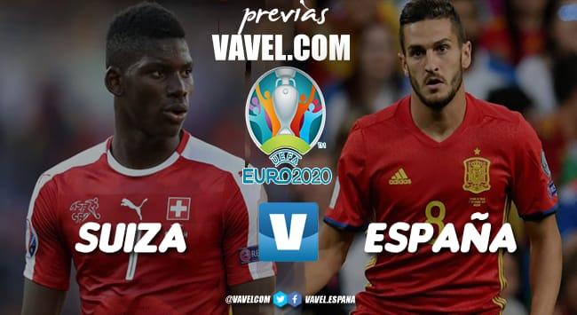 Previa Suiza - España: en bandeja para unas semifinales