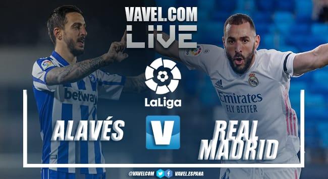 Gols e melhores momentos para Alavés 1x4 Real Madrid por La Liga